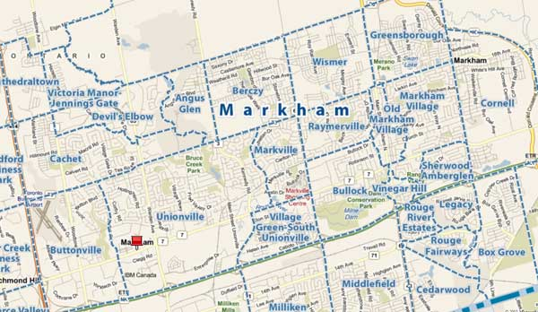 Markham-Ontario-Neighbourhoods
